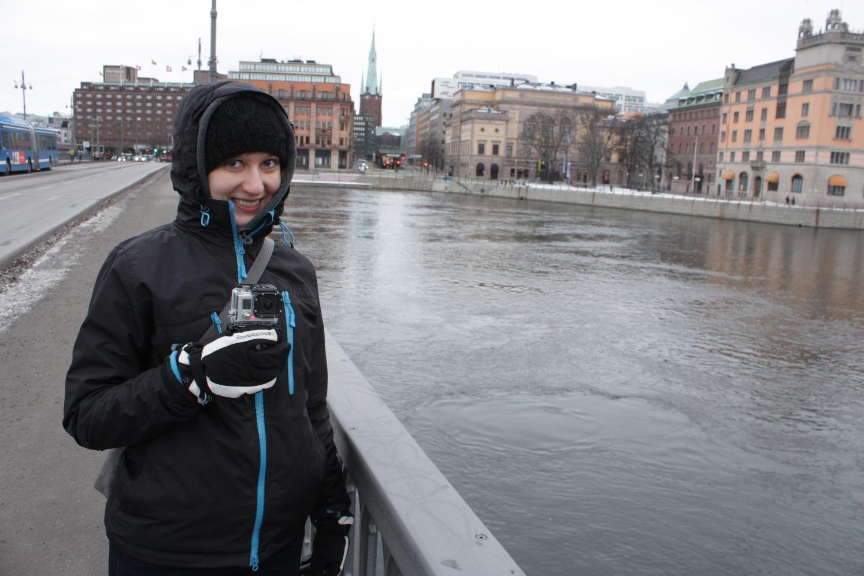 Zimą w Sztokholmie