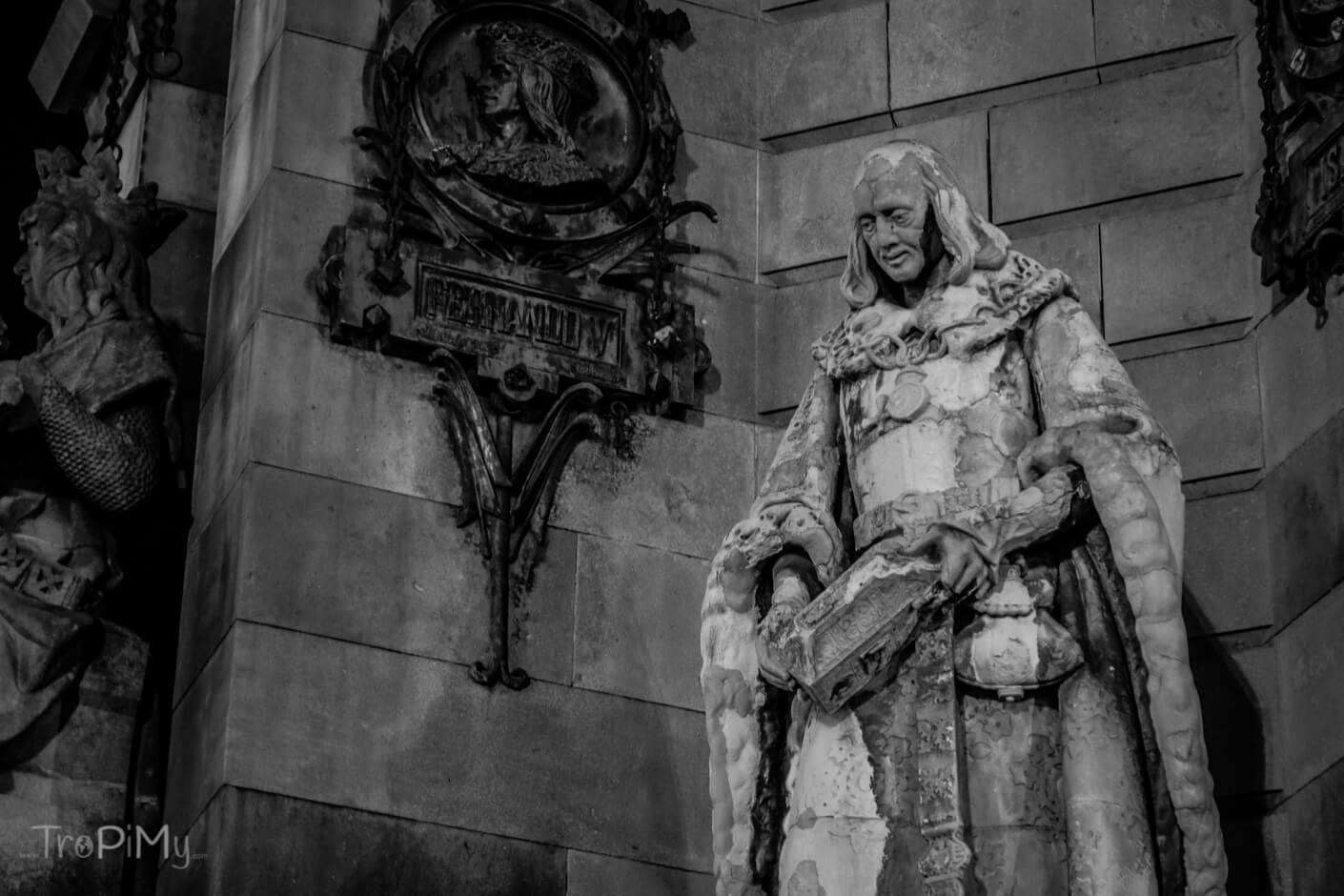 Barcelona - fragment pomnika Kolumba