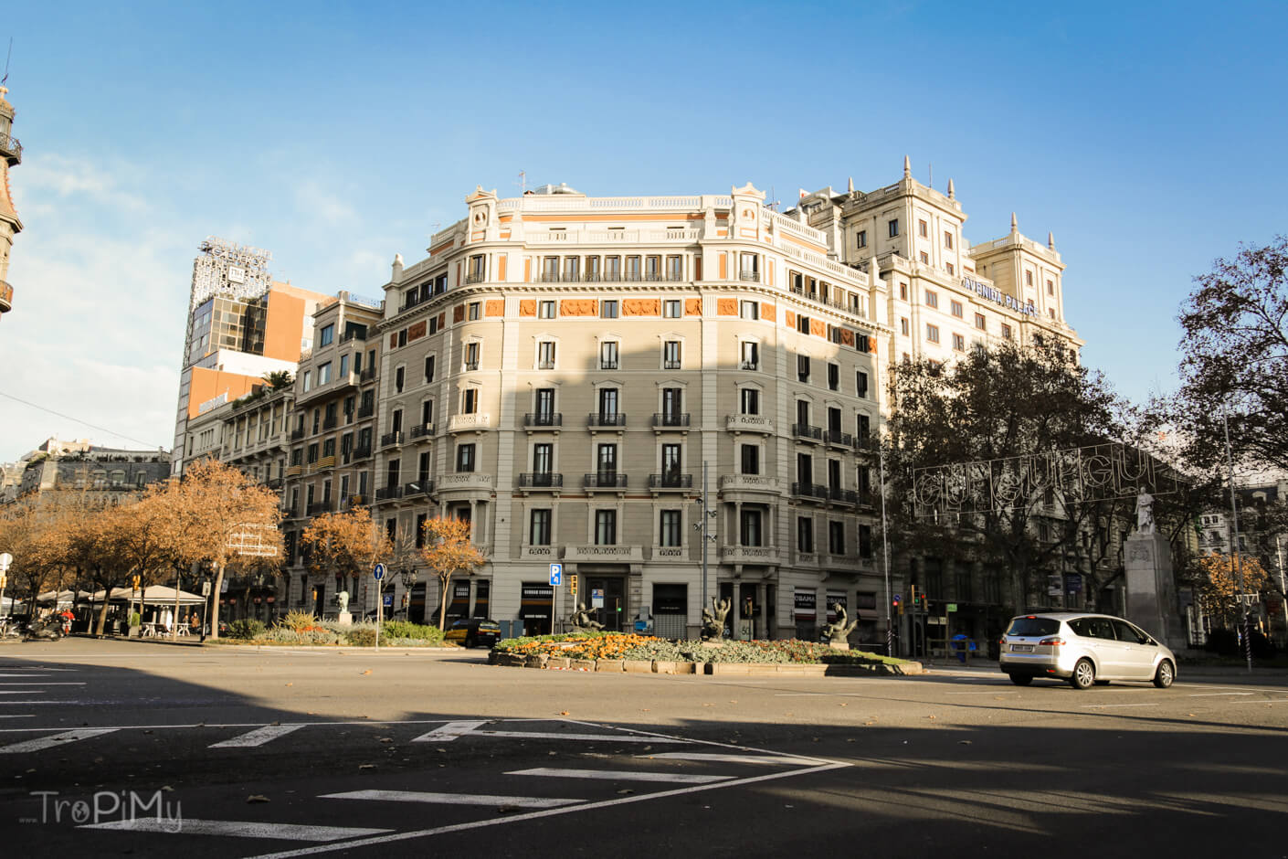 Barcelona, Placa de Catalunya