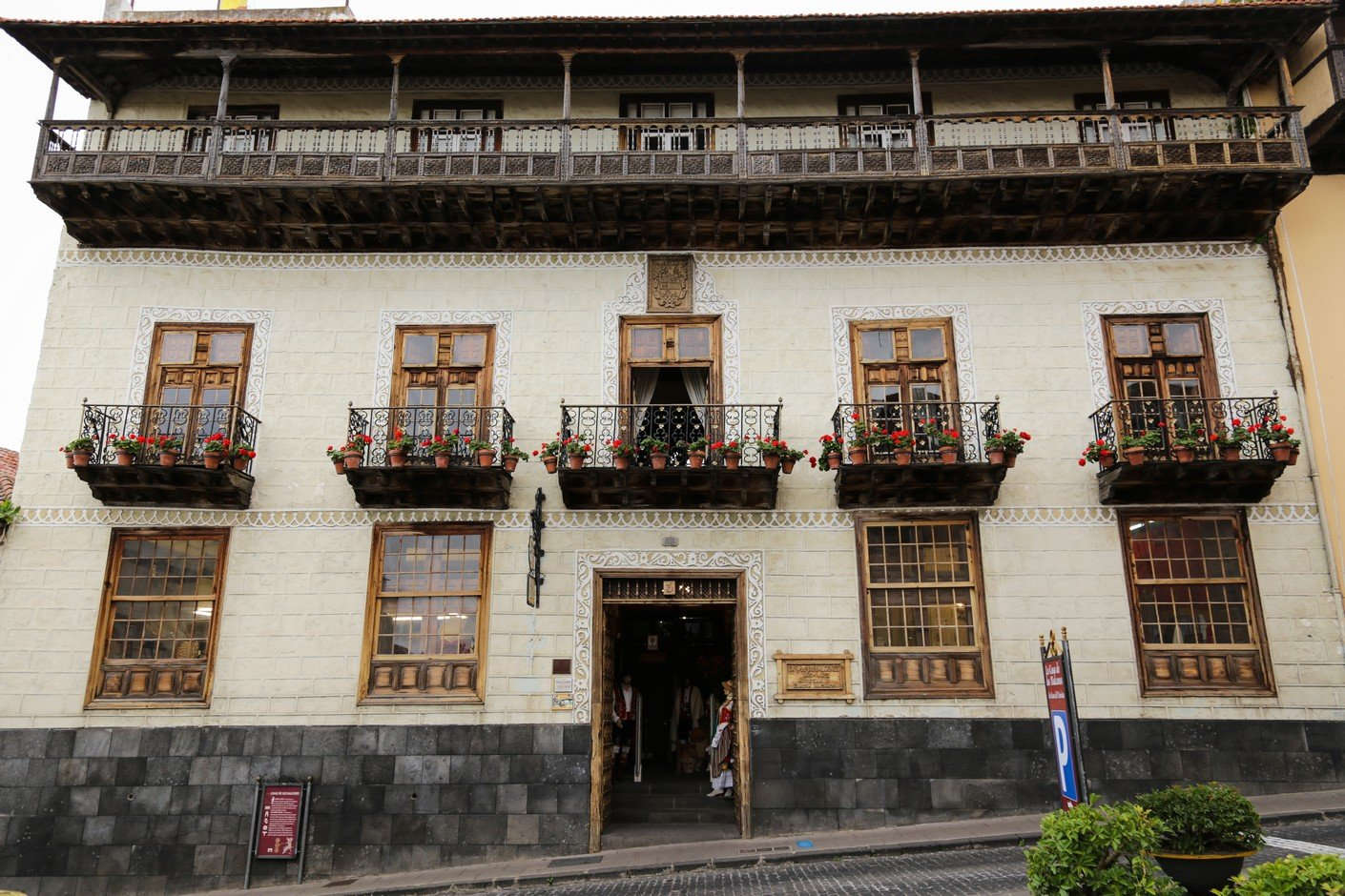 casa de balcones