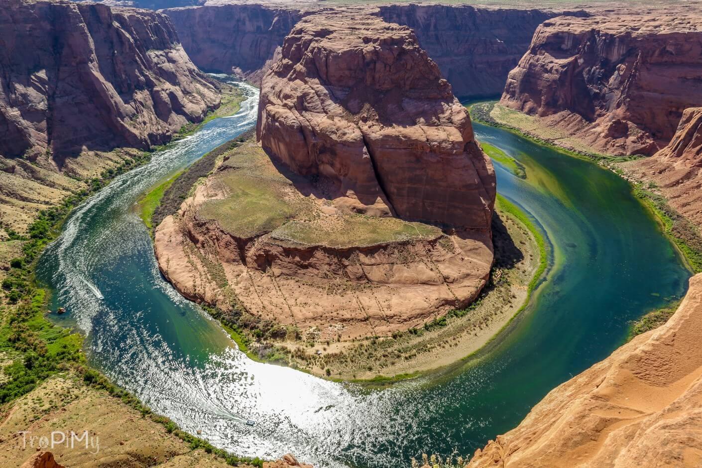Pełne podłączenie kempingu w Arizonie
