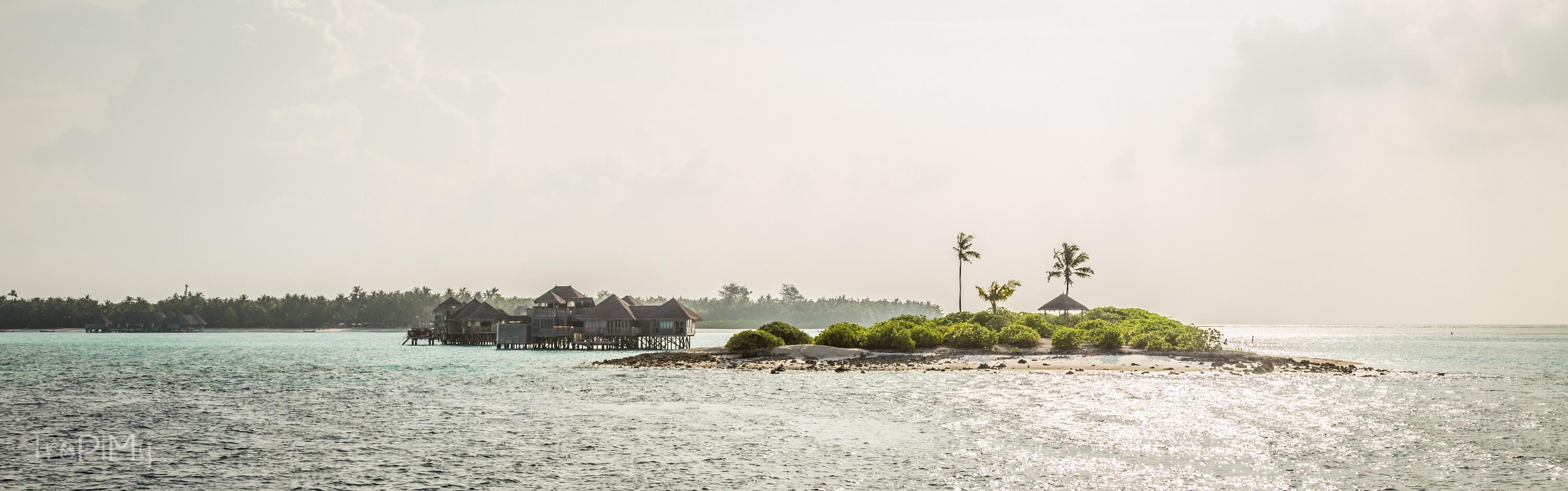 Bungalow z prywatną wysepką w jednym z resortów