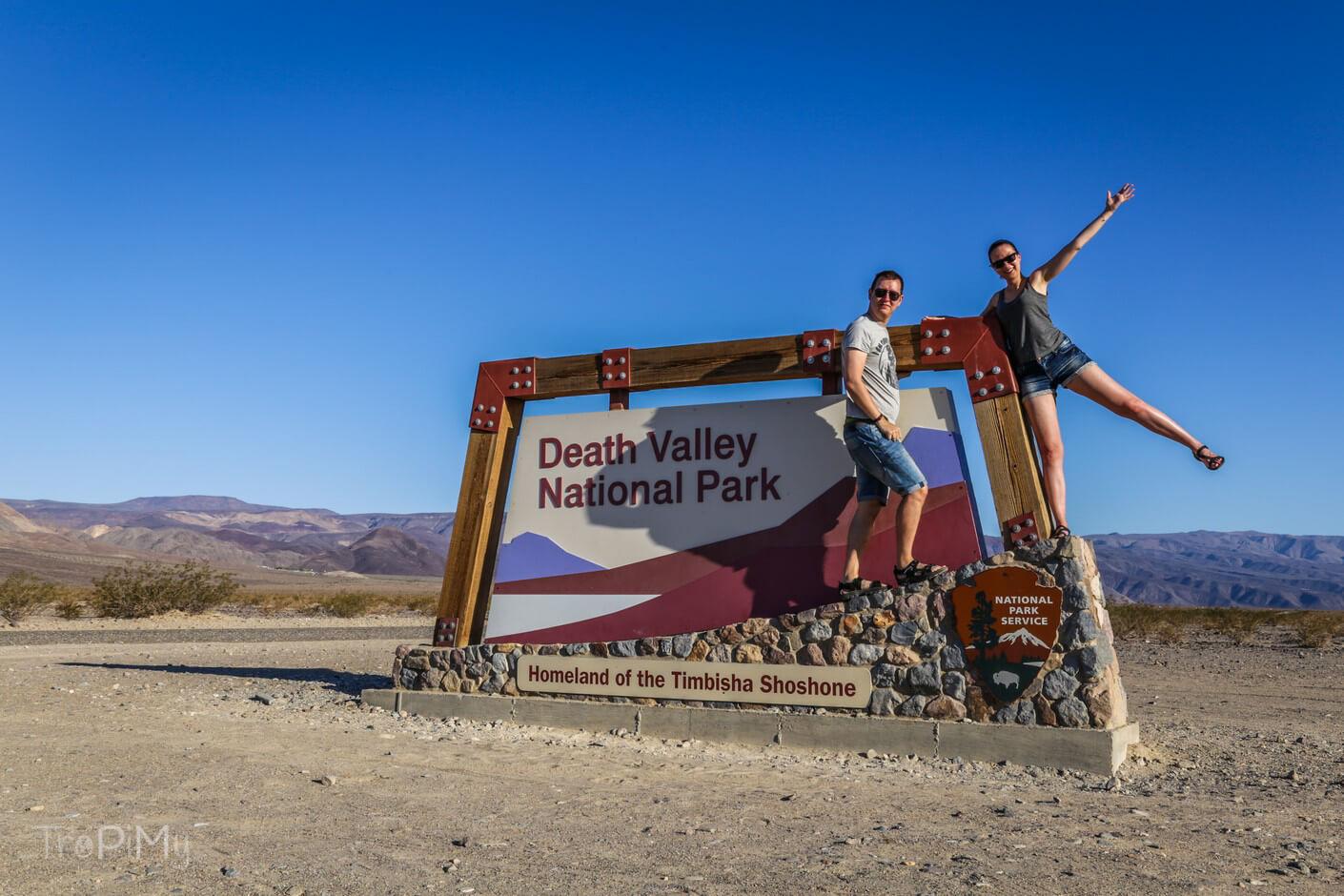 Wjeżdżamy do Doliny Śmierci!