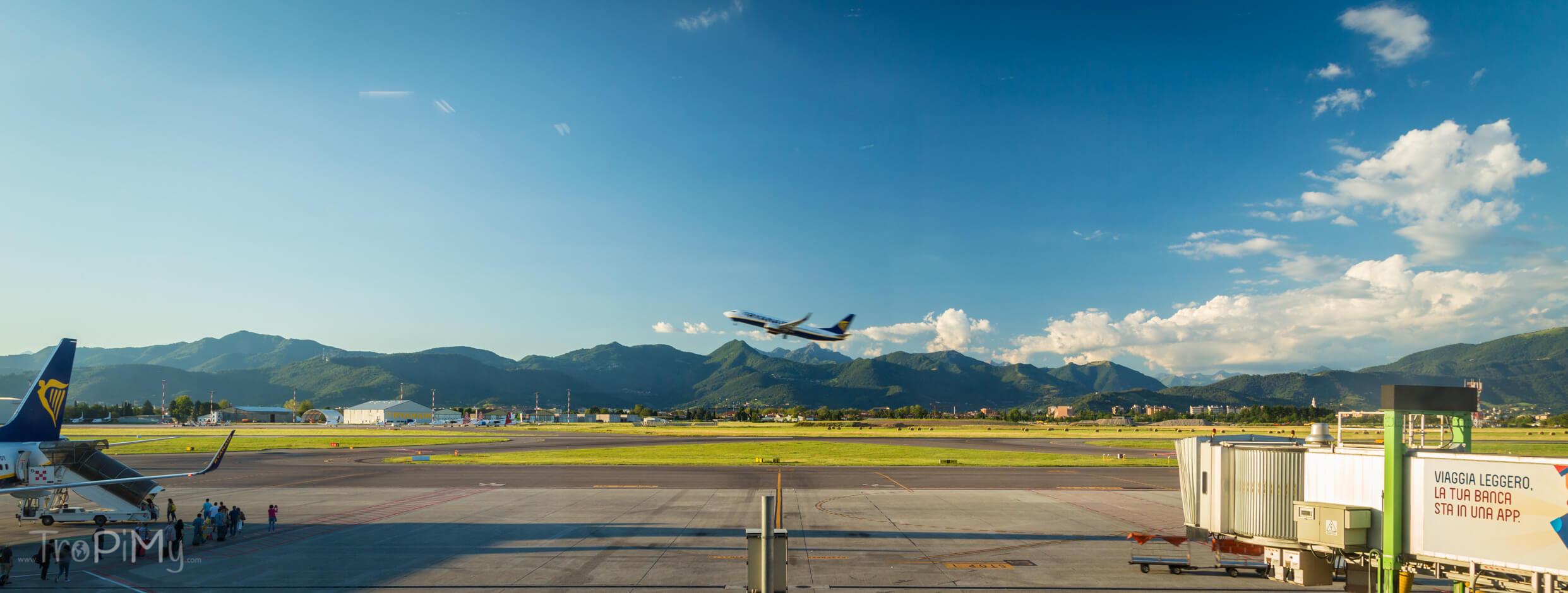 Lotnisko w Bergamo