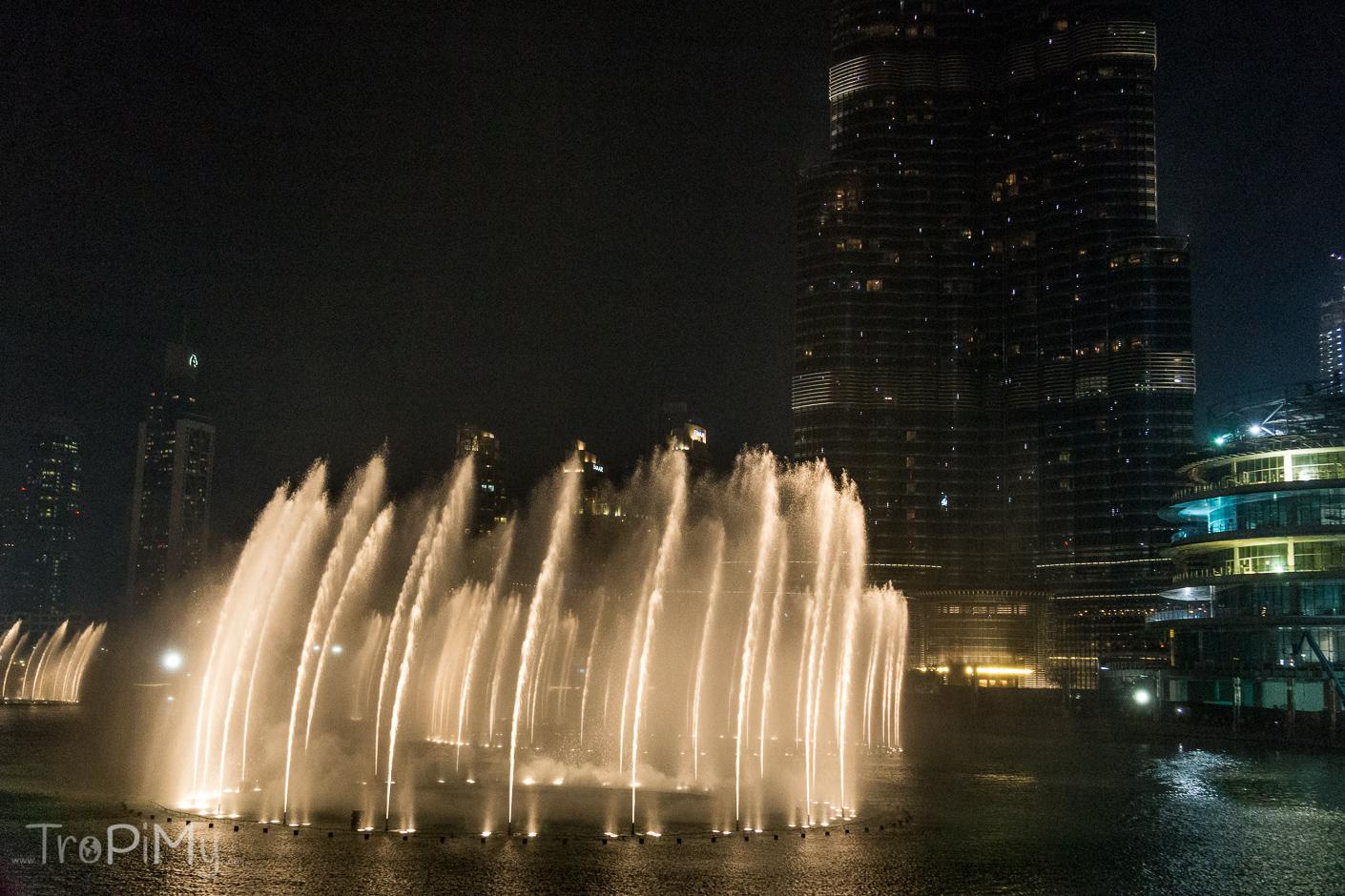 Fontanny w Dubaju