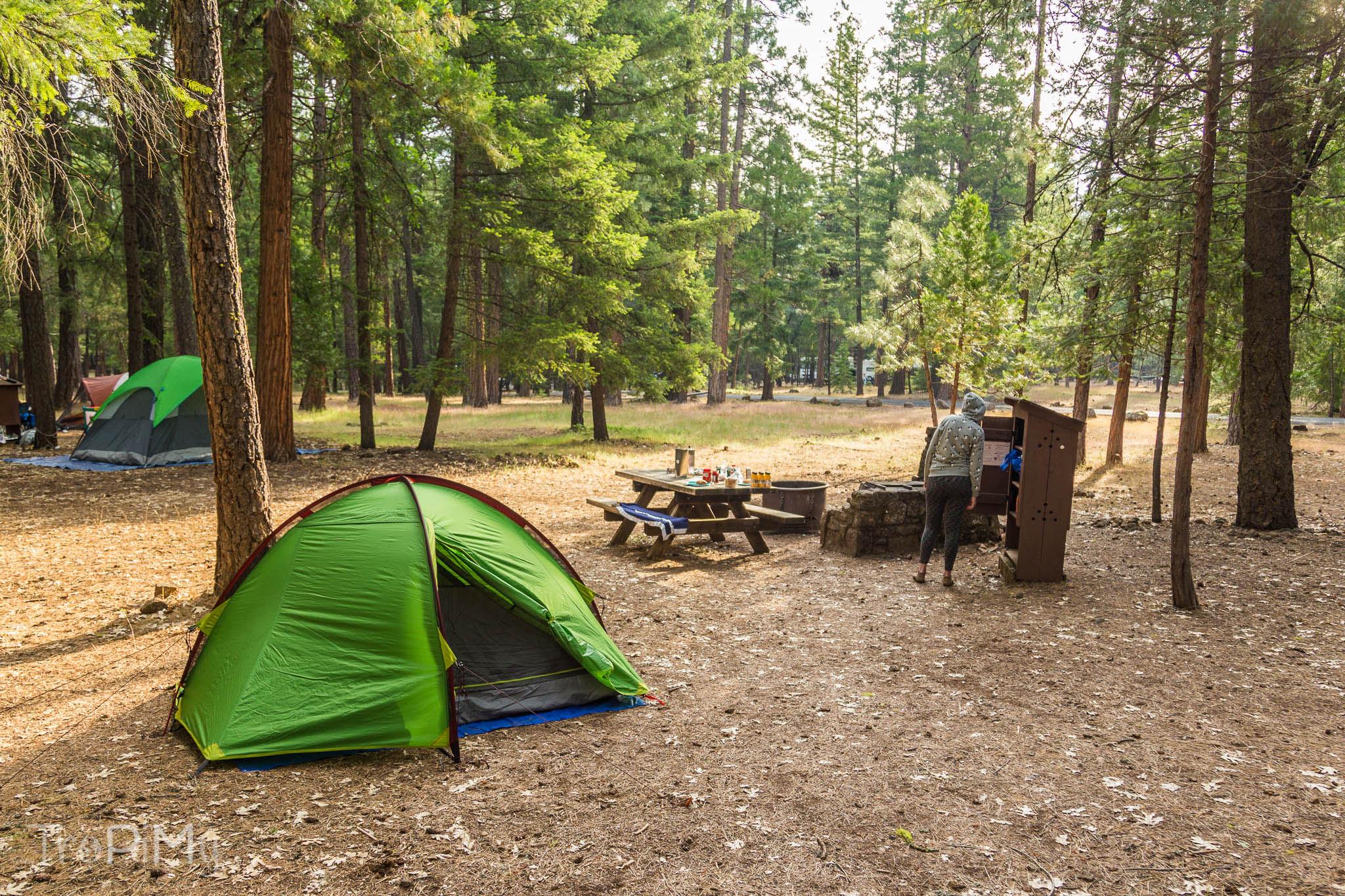 McArthur-Burney Falls campground