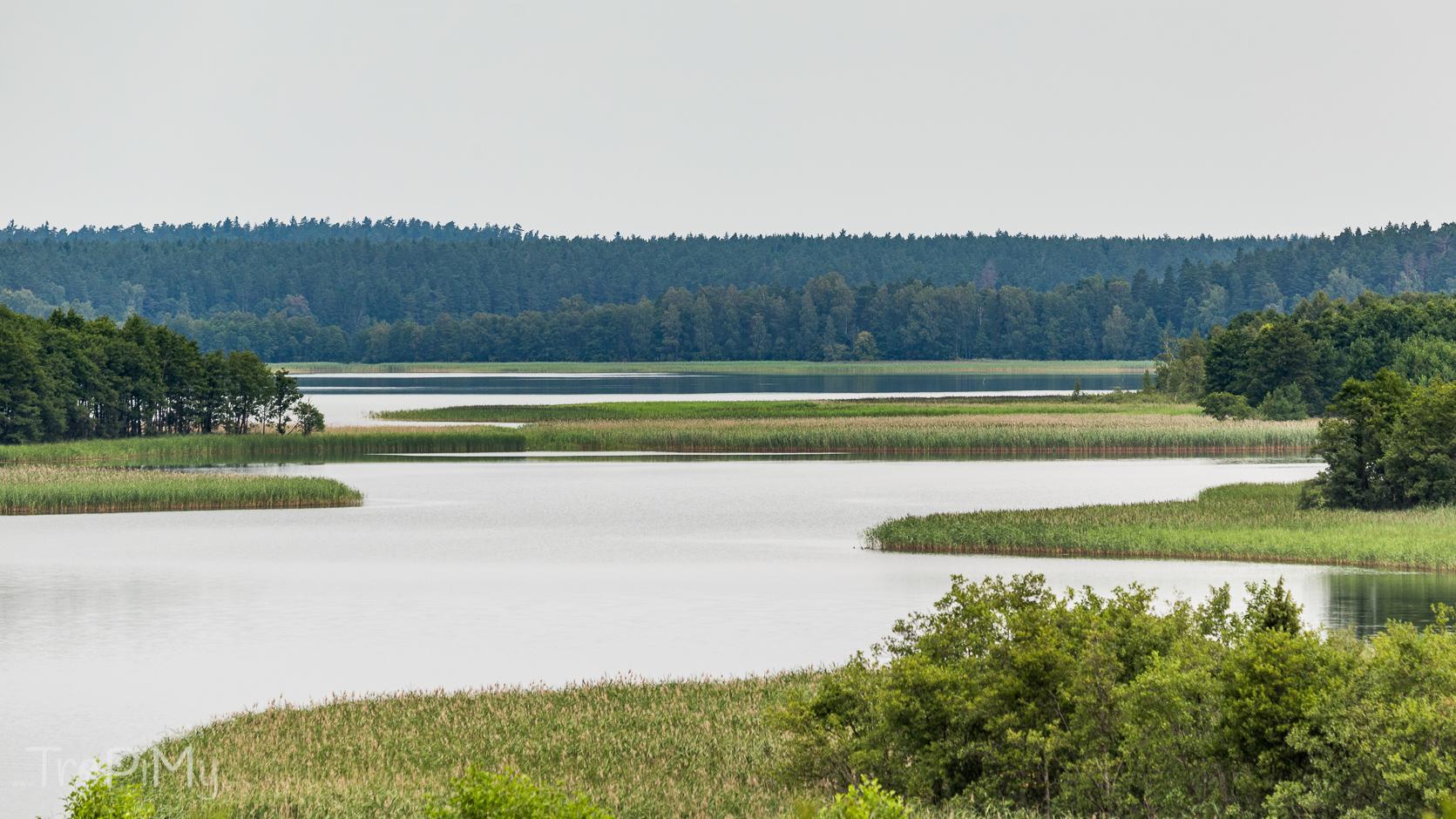 Wigierski Park Narodowy - jezioro Wigry z Bryzgla