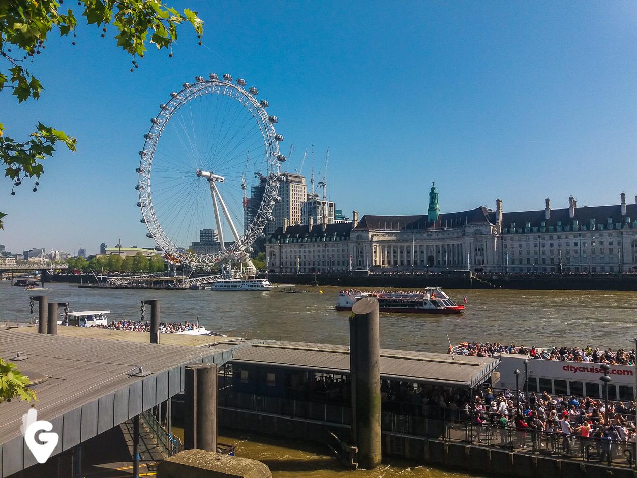 Tamiza i London Eye